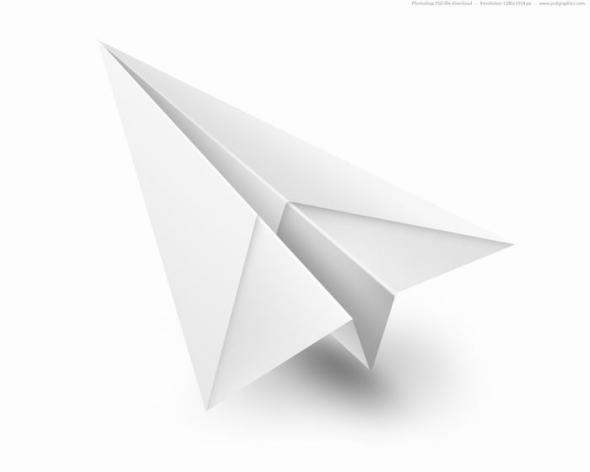 Схемы бумажных самолетов