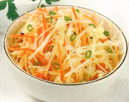 Редька салат рецепт