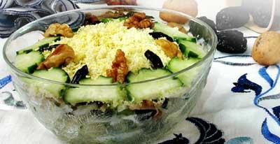 Легкие салаты с курицей без майонезаы
